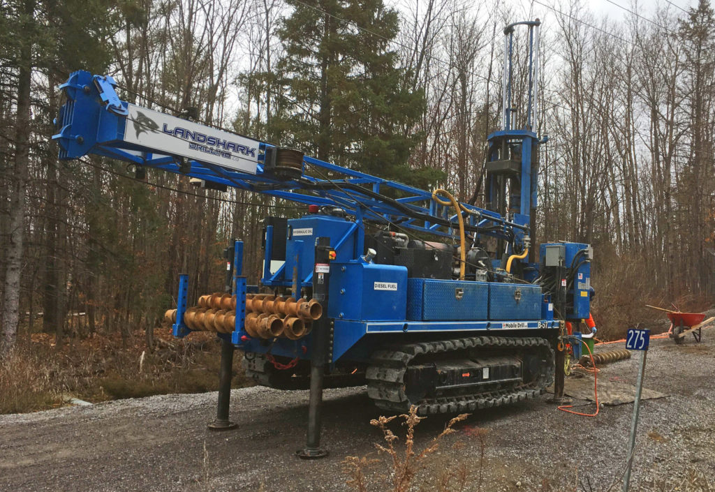 B57 Track Mount Drill Rig